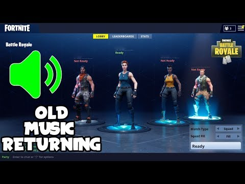 "EPIC OFFICIALLY Confirms On STREAM ""ORIGINAL/OG MUSIC RETURNING"" (Fortnite Battle Royale)"