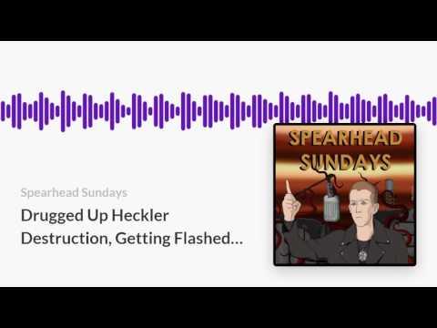 Drugged Up Heckler Destruction, Getting Flashed on Stage -- SS40