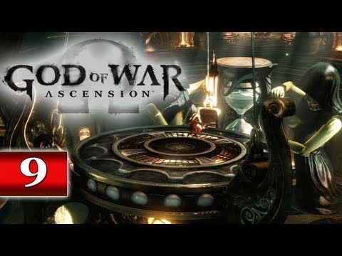 God of War Ascension (PS3) Walkthrough - Part 9: Chapter 11   Delphi Catacombs, HourGlass Puzzle & Aletheia Charm GoW Let's Play Gameplay HD