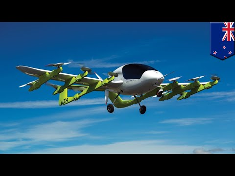 Flying car: Cora, backed by Google co-founder Larry Page, approved for trials in N.Z. - TomoNews
