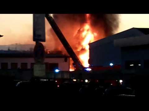 Feuer in Schwelm in NRW am 4.7.2010