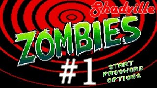 Zombies Ate My Neighbors (Sega, 16 bit) прохождение игры #1
