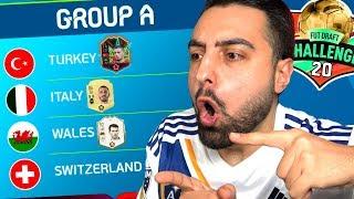 TÜRKİYE NİN EURO 2020 GRUBU CHALLENGE ! FUT DRAFT FİFA 20 !