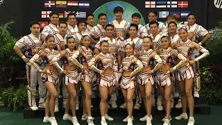Team Thailand Coed Elite Lv.5 World Cheerleading Champions 2016