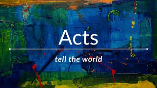 11/07/21 'The Story' Acts 6: 8-8: 1