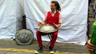 Daniel Waples --Hang Drum -- Edinburgh August 2012
