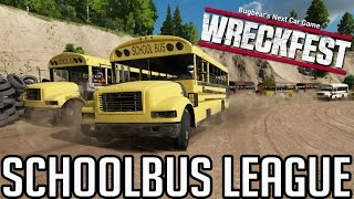 Wreckfest Mods - SCHOOLBUS LEAGUE - Next Car Game Gameplay
