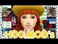 +100 MODS PARA THE SIMS 4 (+ REALISMO/JOGABILIDADE/AJUSTES) | Mod Review |