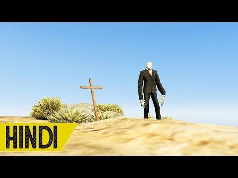 I Killed SLENDER MAN in GTA 5 - Hindustani Gamer