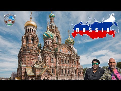 WORLD RIDE 2017 || EP. 51 || Fascinating St.Petersburg,RUSSIA