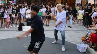JHKTV] 홍대댄스 위더스 hong dae  k-pop dance with us  전야 (前夜) (The Eve) - EXO