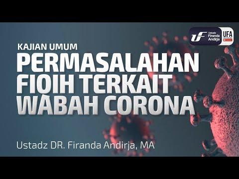 permasalahan-fiqih-terkait-wabah-corona---ustadz-dr.-firanda-andirja,-m.a.