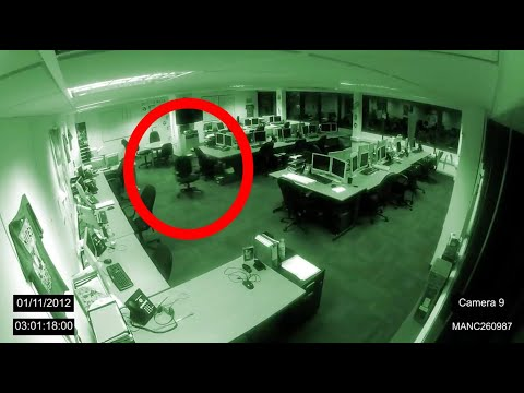 NEWS: Manchester Poltergeist Caught on CCTV - 1/11/2012