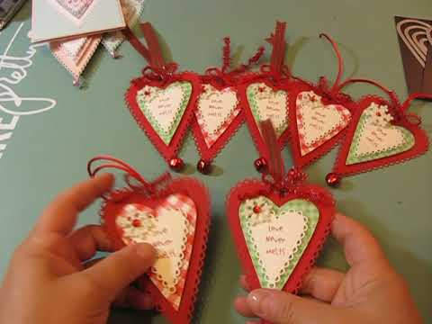2019 Christmas Stamps.2019 Christmas Tags 2 Featuring Paper Sweeties Stamps Tcp Stamps And Prim Heart Dies By Nicole