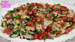 Patlıcan Salatası ( Çullama) Tarifi - Hülya Ketenci - Yemek Tarifleri