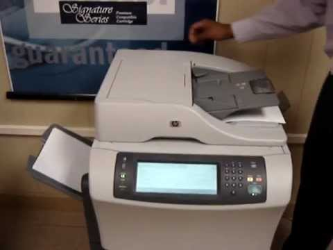 hp laserjet 4345 m4345 adf automatic document feeder cleaning rh youtube com hp laserjet m4345 mfp manual español hp laserjet 4345 mfp service manual