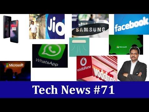 Tech News #71   1+ usr beware OxygenOS update  Samsung drop iris scanner  Jio 3 new JioLink plan