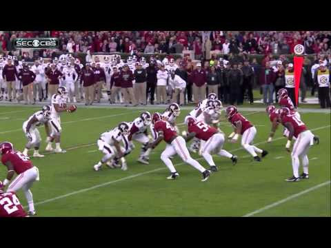 #5 Alabama vs #1 Mississippi St 2014 HD