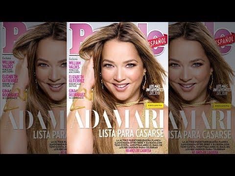Detrás de cámaras de nuestra nueva portada con Adamari Lopez | People En Español