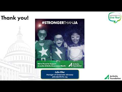 Advocate Training Video: JA Awareness Month