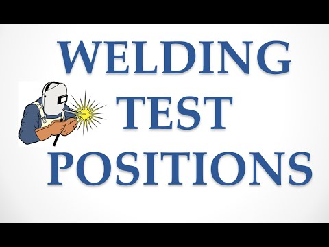 welding positions piping youtube Welding Types Explained
