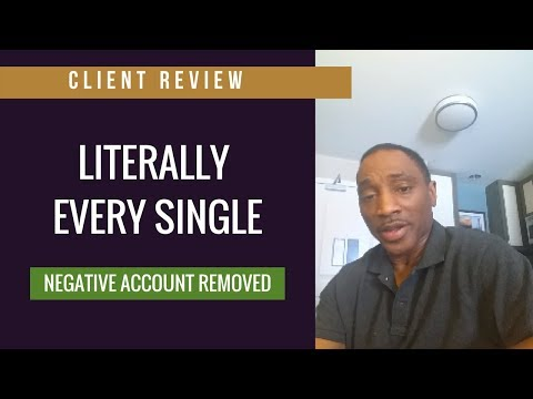 """Leaf Credit Repair Client Review"" LITERALLY EVERY SINGLE NEGATIVE ACCOUNTS REMOVED"