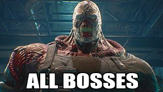 Resident Evil: The Umbrella Chronicles HD - All Bosses (With Cutscenes) PS3