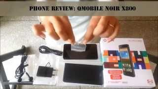 Qmobile Noir X800 Review | Smart Reviews by Kanwal |