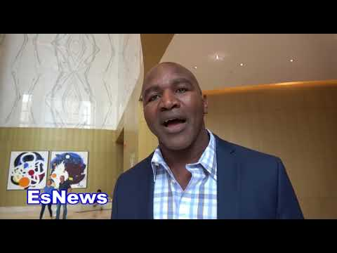 ((EPIC)) Vitali Klitschko Reveals To Holyfield Why He Never Wanted To Box Him  EsNews Boxing