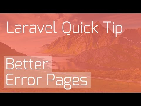 Better Error Messages in Laravel for Easier Debugging [Laravel Quick Tips]