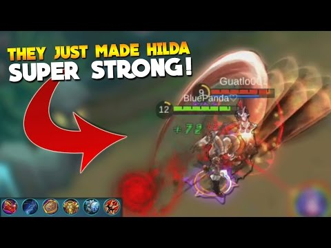 Mobile Legends They Buffed Hilda! (Tank Gameplay)