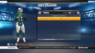 Lets Play: Madden NFL 13 My Career - Create a Player/Getting Mad at Teammates - Part 1 HD