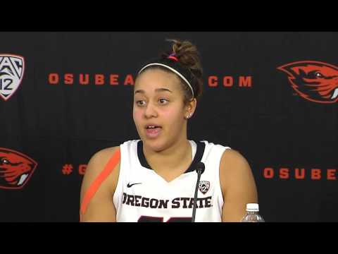 Oregon State Women's Basketball Postgame Press Conference vs Stanford 1/17/2016