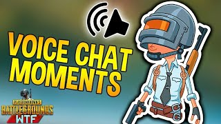 PUBG: Funny Voice Chat Moments