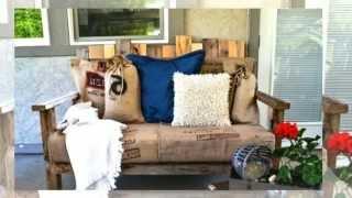 Стулья для дачи. Как сделать быстро и просто(Стулья для дачи. Хочу предложить вам проект как сделать деревянный стул из обыкновенного поддона http://dachasvoimi..., 2014-07-10T12:49:31.000Z)