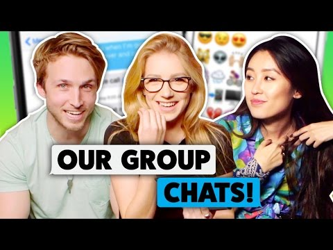 OUR GROUP CHATS! (The Show W/ No Name)
