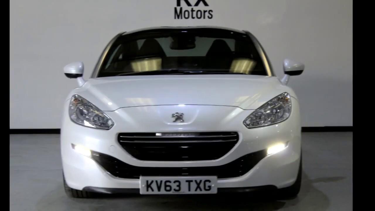Peugeot RCZ, Rx Motors, Used Cars Doncaster Medium - YouTube