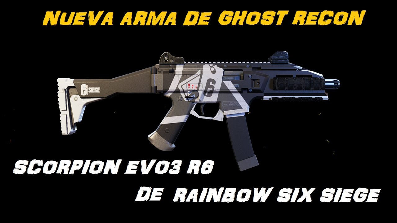 Ghost Recon: Wildlands - Nueva arma basada en rainbow six ... |Ghost Recon Rainbow Six