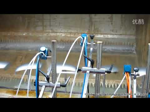 Plastic Parts Automatic UV Spray Coating Line by Spindle Chain Conveyor