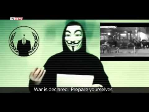 Anonymous vs ISIS Paris Attacks November 2015 | Anonymous War On ISIS (English) Paris Attacks