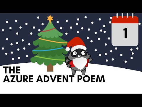 Day 1 - The Azure Advent Poem