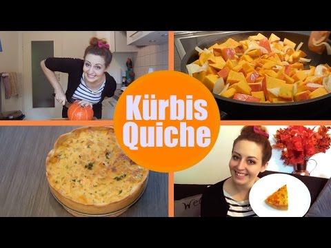 Herbst Rezept Kurbis Quiche Youtube