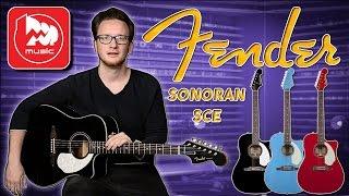 FENDER SONORAN SCE - электроакустика с грифом как у стратокастера