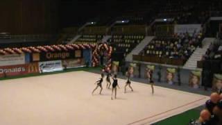 Ansamblul 1 CSM Ploiesti CN Gimnastica Ritmica
