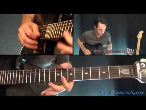 Mr. Brownstone Guitar Solo Lesson - Guns N