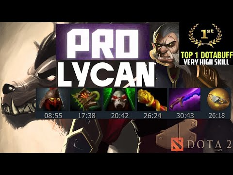 TOP-1 LYCAN [PRO] ЛИКАН ГАЙД\РЕПЛЕЙ DOTA 2 HD