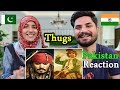 Thugs Of Hindostan - Official Trailer | Pakistani Reacts | Amitabh Bachchan | Aamir Khan