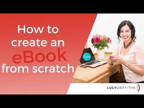 How To Create An EBook From Scratch (Canva Tutorial)