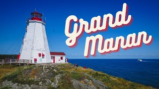 GRAND MANAN ISLAND Travel Guide 🦞 | MUST-VISIT Island in ATLANTIC CANADA! 🇨🇦 (New Brunswick)