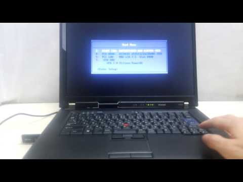 Linux USB起動方法How to Boot Linux from USB thumb Drive